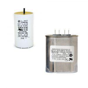 Capacitores metal halide